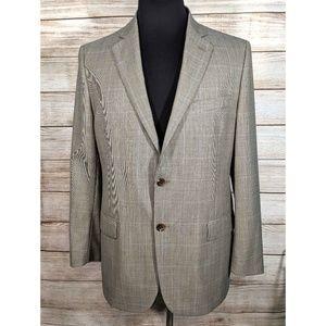 Brooks Brothers 346 Sport Coat Plaid Jacket Blazer